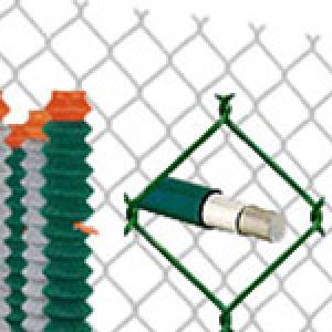 Chain-link fence fabric